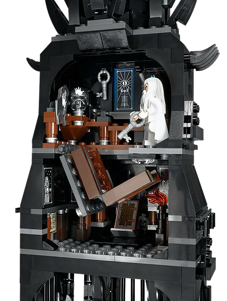 LEGO's New 'Lord Of The Rings' Tower Of Orthanc Is Pretty Amazing