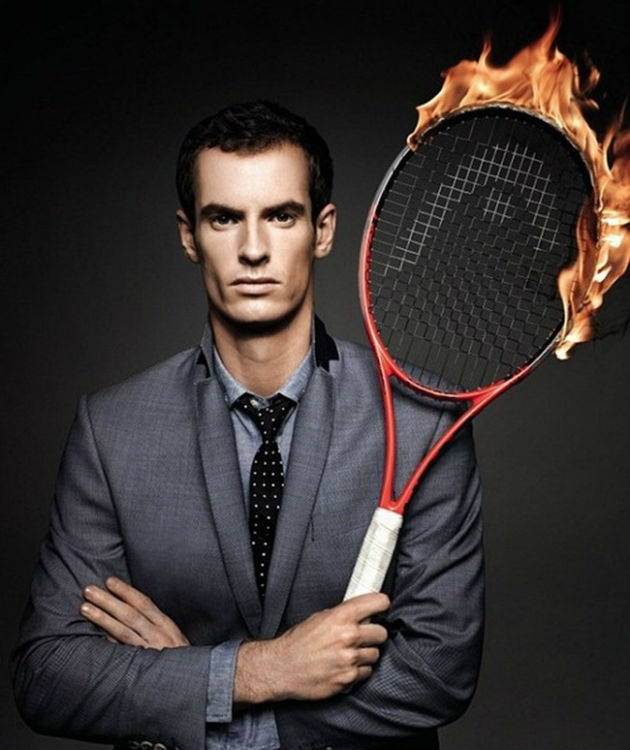 Wimbledon Champ Andy Murray Is Courting Us Pretty Hard