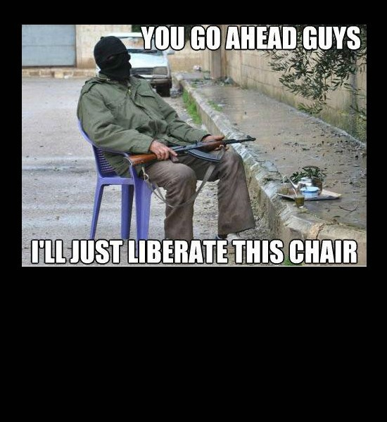 Liberate This Chair