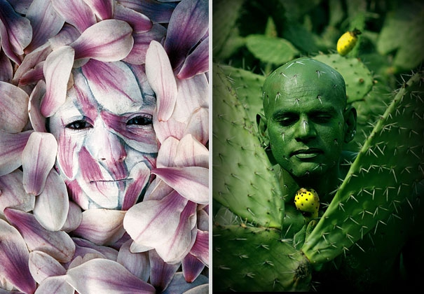 Amazing Nature Inspired Body Art Illusions By Johannes Stoetter