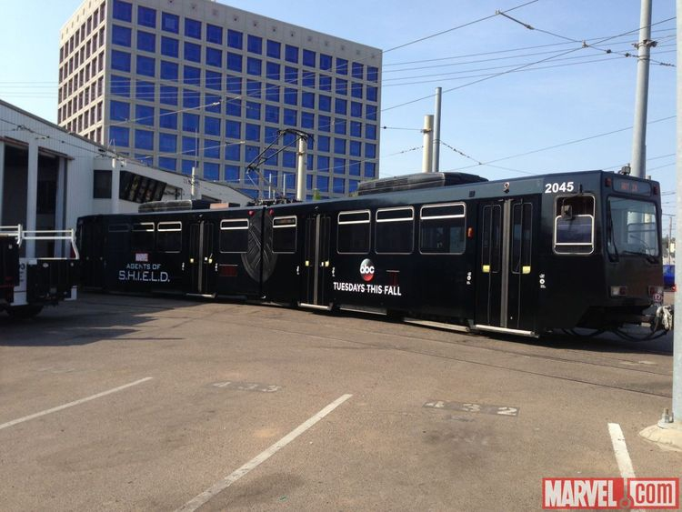 SDCC 2013: AGENTS OF S.H.I.E.L.D. Take Over San Diego Trolleys