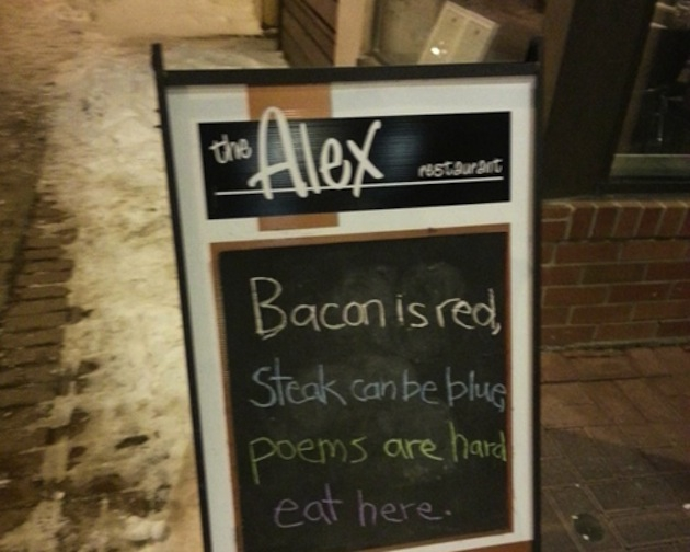 12 Creative Restaurant Signs