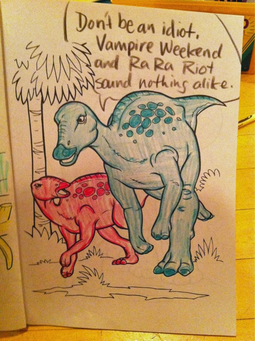 Hipster Dinosaurs Are Making A Greatest Hits Comeback