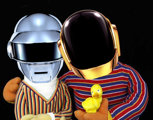 Daft Punk's 'Get Lucky' Gets The Sesame Street Mashup Treatment