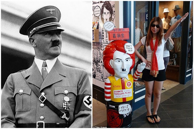 Hitler Fried Chicken Restaurant had just opened in Thailand