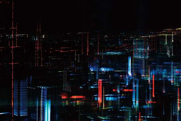 A Series Of Futuristic And Hallucinatory Images Of Tokyo