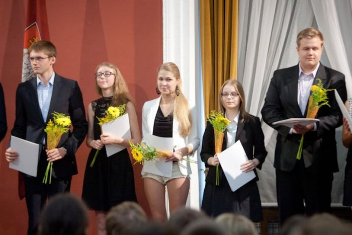 The Smartest Schoolgirl of Vilnius, Lithuania