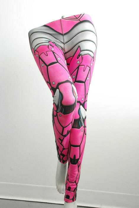Badass Leggings That Look Like Armour