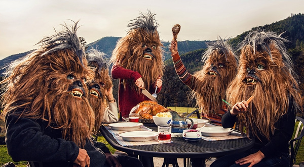 Hilarious Photographs Reveal A Day In The Life Of A Wookie