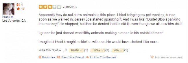 Check out what the people on Yelp said: