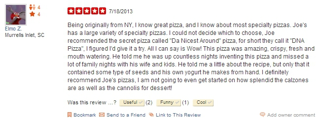 Jersey Joe's Pizzeria Owner Irate After Being Accused Of Masturbating