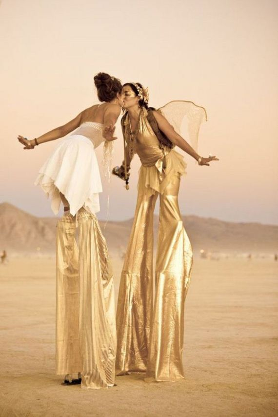 Sexy Burning Man Chicks.