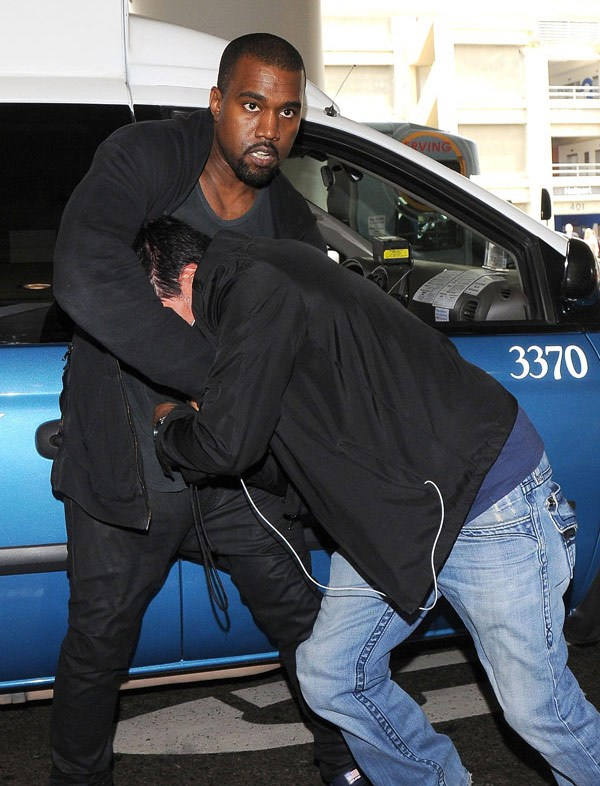 Paparazzi Might Sue Kanye West For Robbery And Assault!