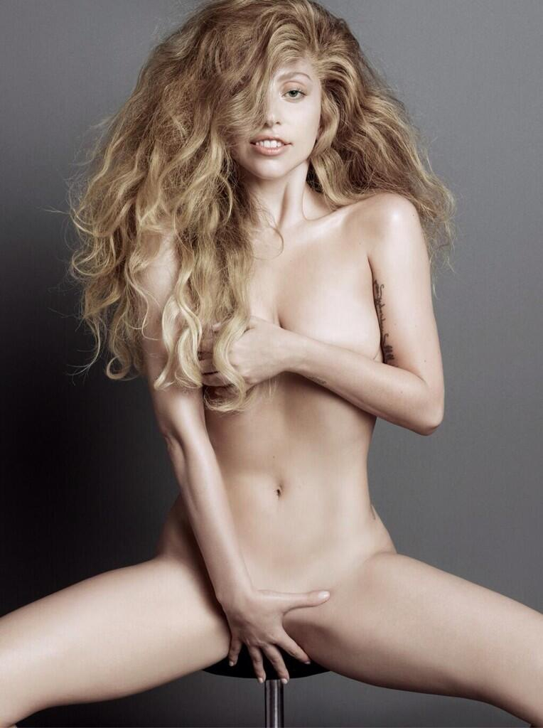 Lady Gaga Goes Nude for V Magazine to Prep for ARTPOP