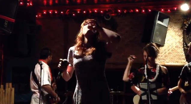 Watch: Florence Welch Sing 'Get Lucky' Drunk