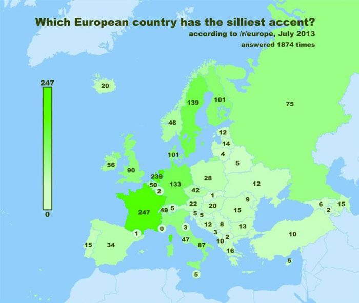 European Redditors Chose Their Favorite Countries