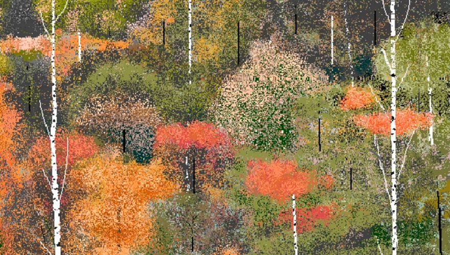 Blind WW2 Veteran Creates Incredible Pixel Art With MS Paint