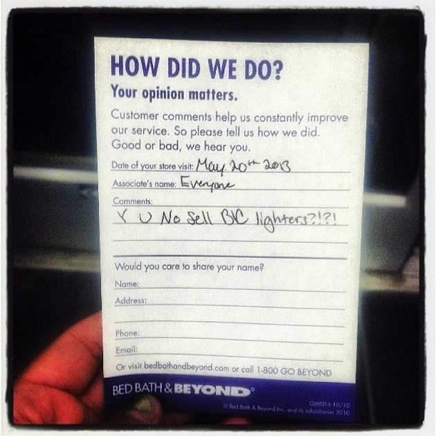 11 Ridiculous Comment Cards You'll Wish Were for You