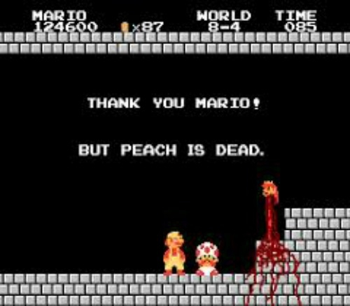 Dead Princess Peach Fan Art Is A Thing That Exists