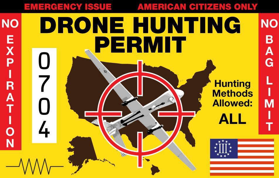 WEIRD NEWS! Colorado Town May Issue Hunting Licenses For Drones