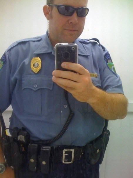 'Cop Selfies' Confirms The Sad Fact That Even Cops Take Selfies