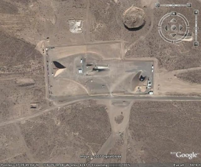 A Giant Pyramid found in Area 51 by Google Earth Map [video]