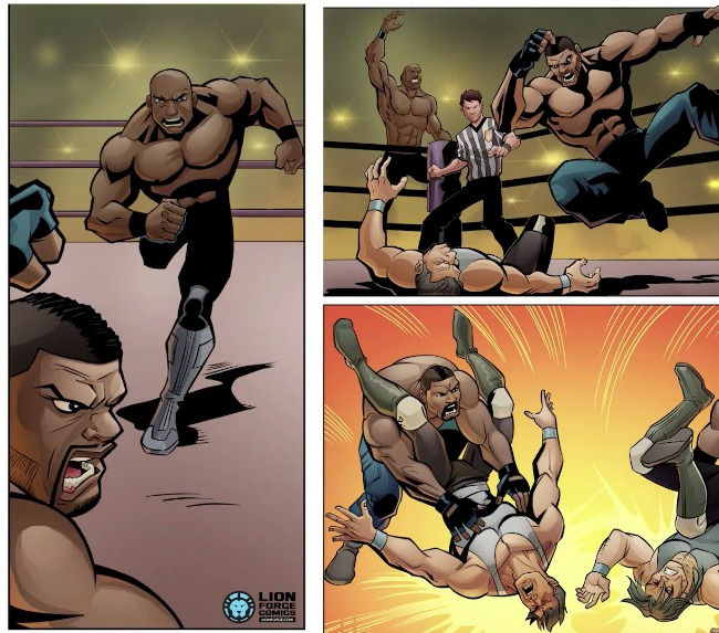 Rampage Jackson Has A Comic Book Now, and Oh yeah, it's Terrible.