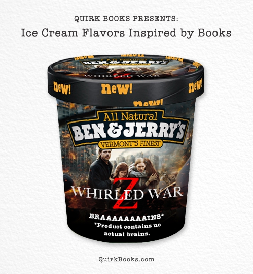 Mock Ben & Jerry's Ice Cream Flavors Based on Well-Known Books