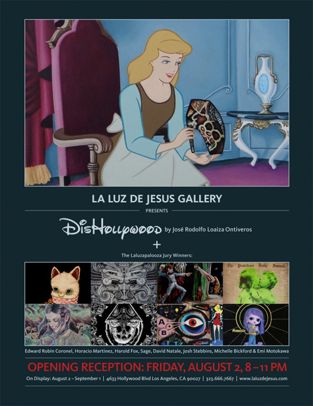 DisHollywood, Art Show Featuring Disney Remixed With Pop Culture