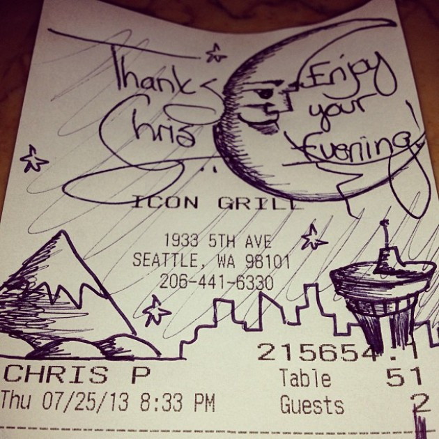 11 Clever Notes Left on Restaurant Receipts