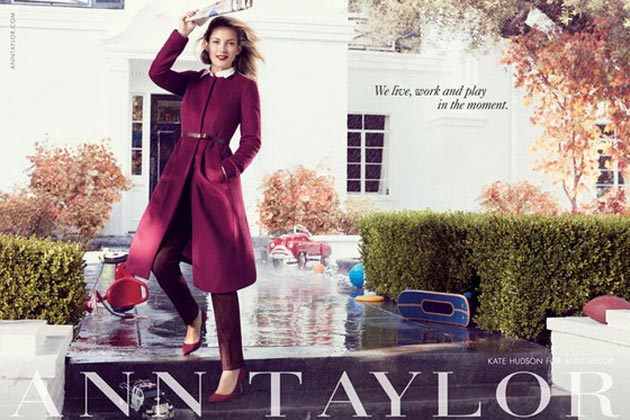 CELEBS! Kate Hudson and Nephews Appear in New Ann Taylor Ad Campaign