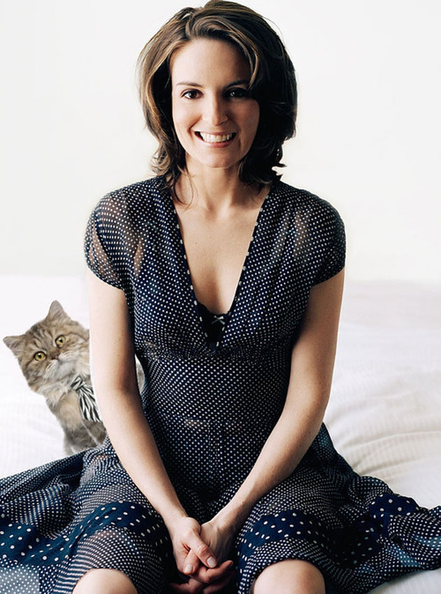 Tina Fey With Cats -- Your New Favorite Tumblr