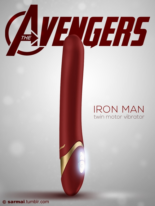 'Avengers'-Themed Sex Toys Make Perfect Present