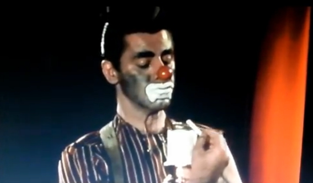 Watch 'Shocking The Day The Clown Cried' Footage