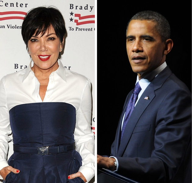Kris Jenner Takes A Jab At Obama In Her Daughters Defense.