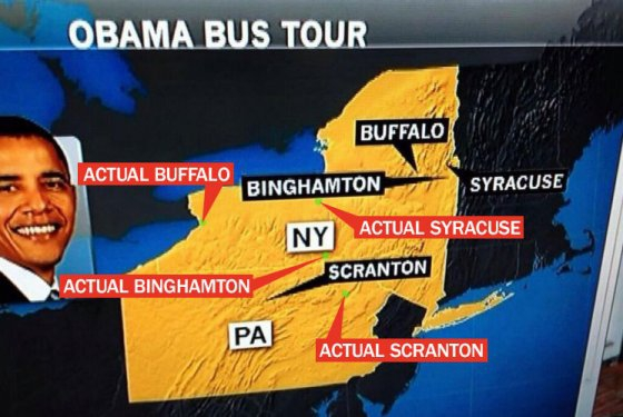 MSNBC Map Puts Every City in the Wrong Spot -- Daily Intelligencer