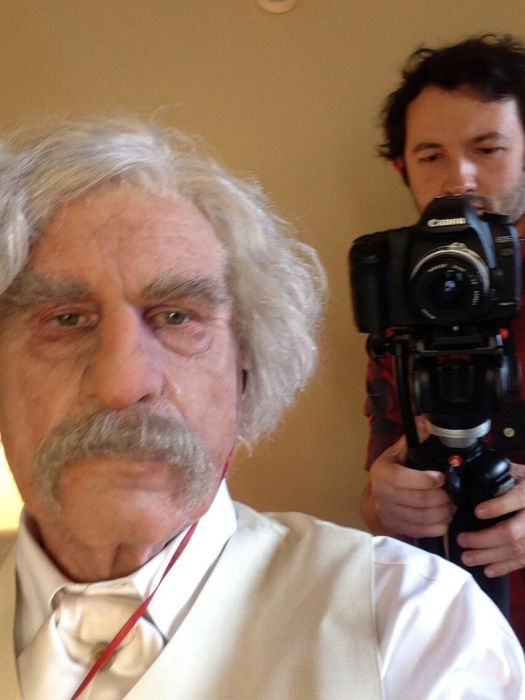 Val Kilmer's Transformation into Mark Twain