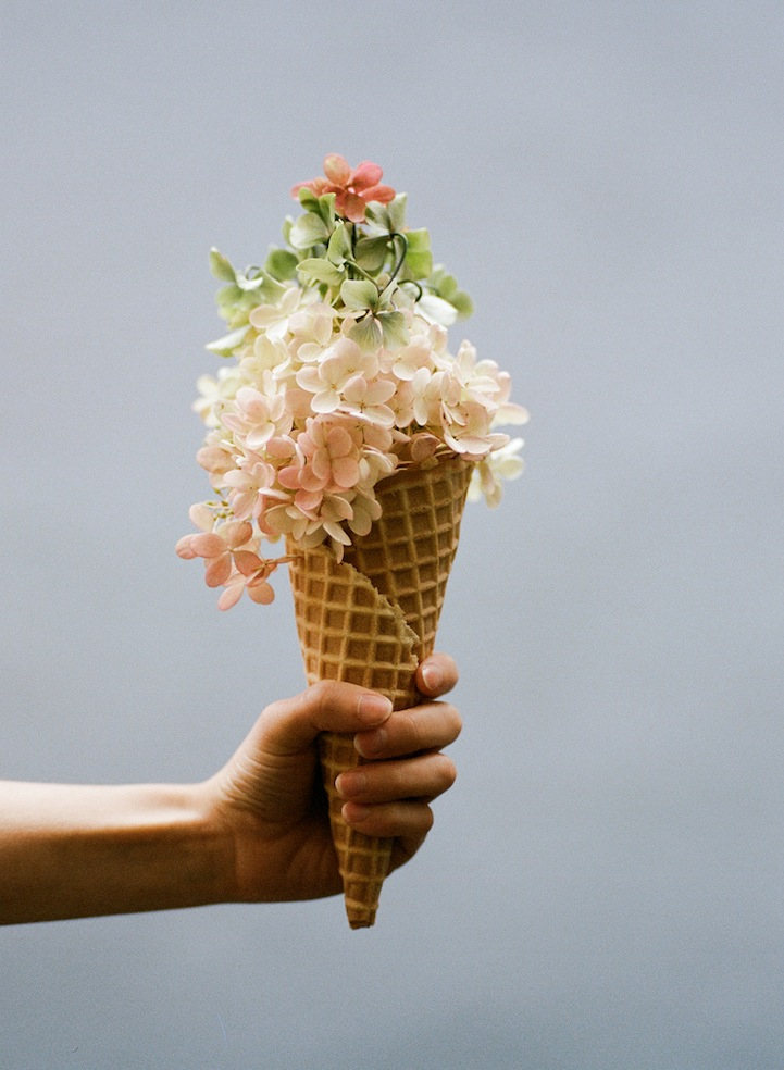 Creatively Blurring the Line Between Ice Cream and Flowers amy-merrick, art, ice-cream-and-flowers, parker-fitzgerald, photo