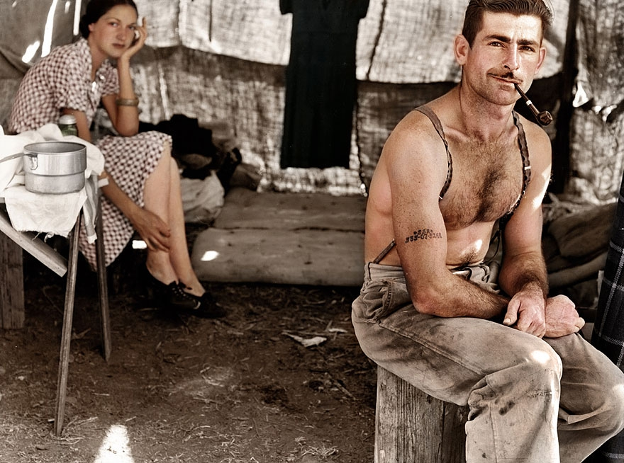 20 Historic Black and White Pictures Restored in Color