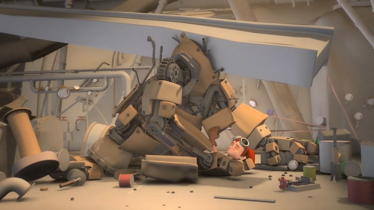 Charming Animated Short About a Girl and Her Robot
