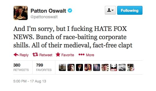 Patton Oswalt Trolled Twitter With Two-Part Political Tweets artistic, awesome, clever, cool, crazy, funny, random, rocks, silly, sweet