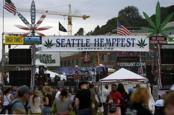 Seattle Cops Handed Out Bags Of Doritos To The Stoners At Hempfest