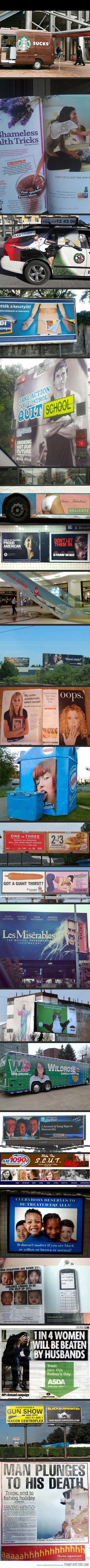 23 Terrible Advertising Placements…lol