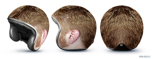 Incredible Creative motorcycle helmets