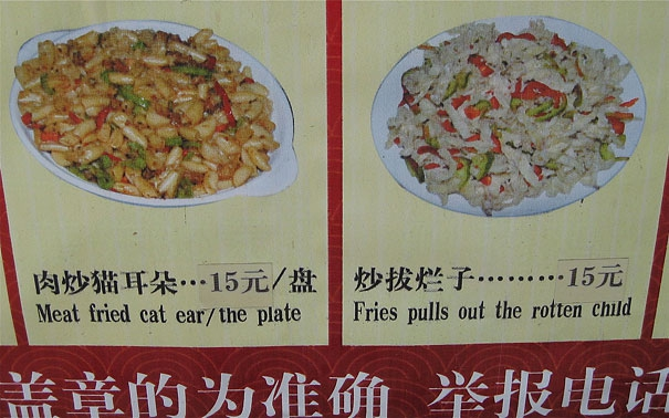 Cat Ear or..? china, chinese, chinese-signs, chinese-translations, engrish, fail, fails, funny, funny-signs, funny-translations, humor, humour, translation, translation-fail, translation-fails, translations