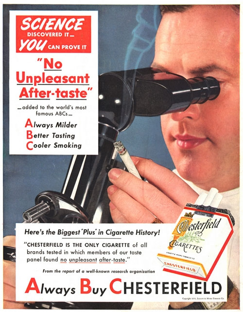 Misleading Vintage Ads Promoting The Benefits Of Smoking