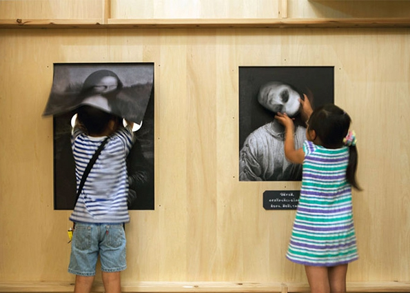 Creepy Haunted Art Gallery for Kids in Japan art, creepy, gallery, haunted, japan, kids, torafu-architects