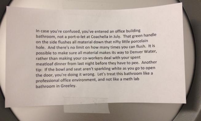 Office Notes That Prove Having Co-Workers Sucks agressive, co-worker, funny, hilarious, note, office-note, sucks