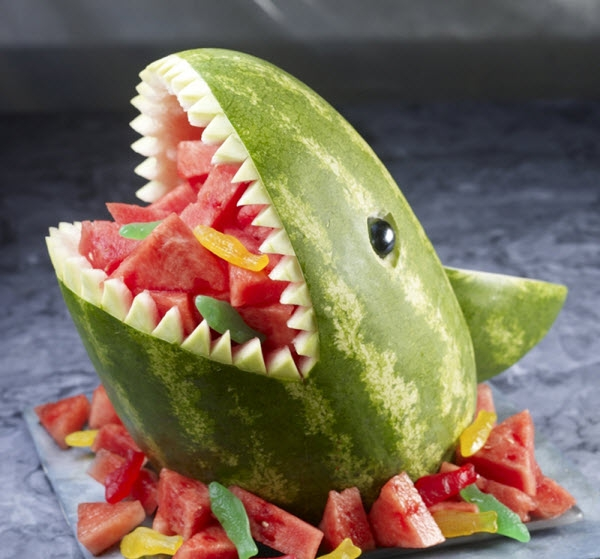 Cool Off With Some Watermelon Art cool, food, summer, watermelon