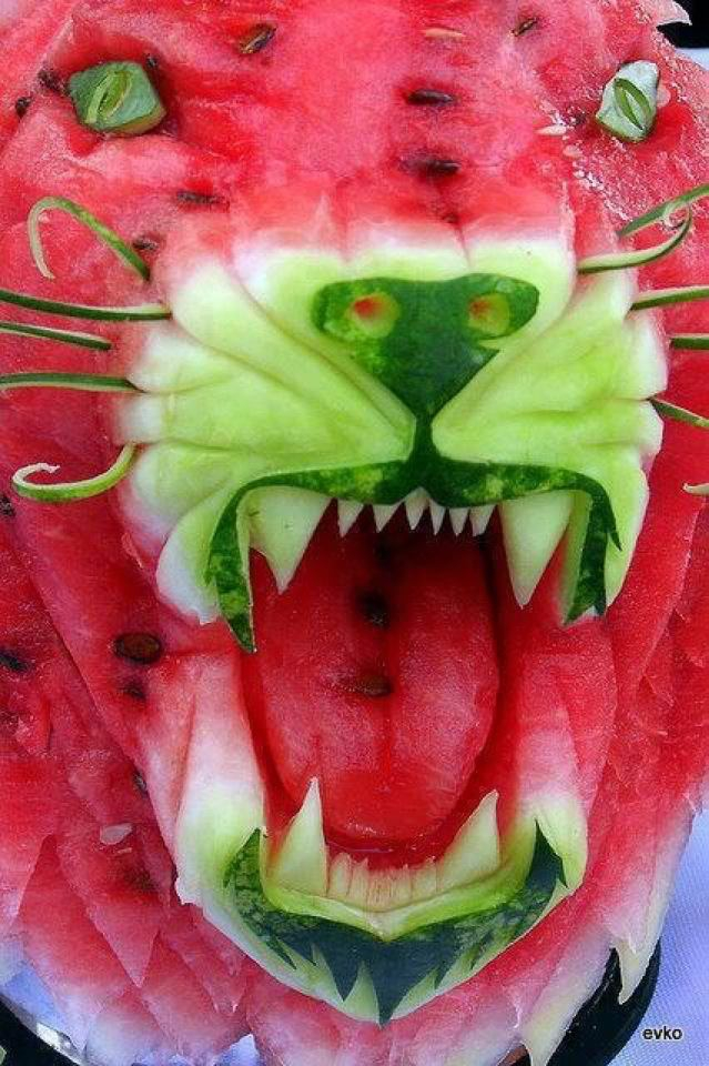 Cool Off With Some Watermelon Art